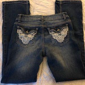 Skinny Boot Cut Vanilla Star